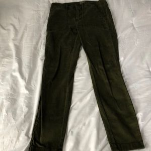 army green pants from J crew
